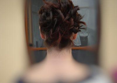 coiffure diplôme derrière