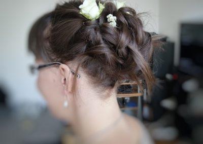 coiffure mariage fleur côté gauche1